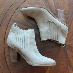 Nine West Mayley Suede Ankle Booties